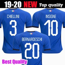 football italy NZ - 2019 2020 World Cup Italy Home Adults Futbol Camisa Totti Pirlo Insigne Del Piero Soccer Jerseys Italia Football Camiseta Shirt Kit Maillot