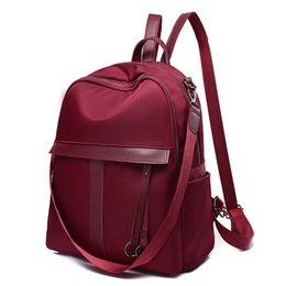 Styles Backpacks Australia - good quality Oxford Material Backpack For Women National Style Casual Rucksack For Women Solid Color Backpack For Female