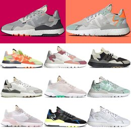 $enCountryForm.capitalKeyWord Australia - nite jogger trainers mens tennis shoes joggers running shoes men sneakers triple black white 3M Reflective footwear white womens jogging