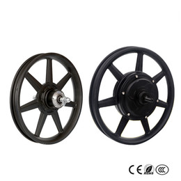 Brushless Motor Bicycle Australia - 14 inch Brushless Non-gear Hub Motor 36V350W High Speed Front Wheel And Rear Drive Wheel Kit For Electric Bicycle