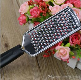 $enCountryForm.capitalKeyWord Australia - Stainless Steel Fruit Vegetable Graters Cutter Potatoes Carrots Melon Zester Slicer Fondue Cheese Grater with Non-slip Handle 222