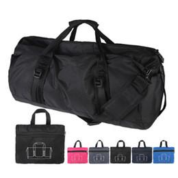 Luggage Packs Australia - Foldable packing cubes High Quality Nylon Waterproof Travel duffel Bag women big Capacity Carry on Luggage Bags Tote Weekend Bag