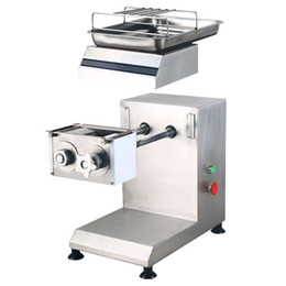 Grinder commercial online shopping - Electric commercial meat slicer Stainless steel slicer Wire cutter Fully automatic Meat grinder Sliced meat dicing machine