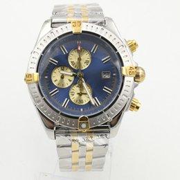 Top Moda Mens Watch 18 K Ouro Grande Diamante Bisel Número Roma Verde Dial Aço Inoxidável Movimento Mecânico Automático Masculino relógio de Pulso em Promoção