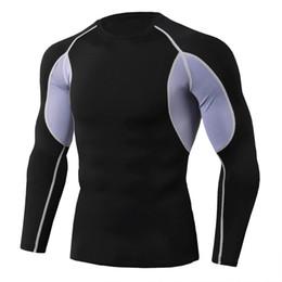 Compression Short Soccer Australia - Wholesale Quick Dry Compression Men's Short Sleeve T-Shirts Running Shirt Fitness Tight Tennis Soccer Jersey Gym Demix Sportswear