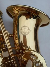 $enCountryForm.capitalKeyWord Australia - SUZUKI Alto Saxophone Brass Musical Instrument Eb Tone E Flat Gold Lacquer Sax Professional Student Playing Instruments with Case Mouthpiece