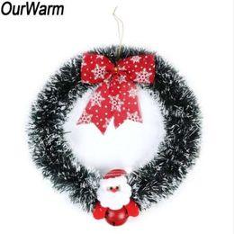 $enCountryForm.capitalKeyWord Australia - OurWarm Christmas Wreath Wall Door Decorations New Year Indoor or Outdoor Decorations Holiday Gifts Festival Supplies