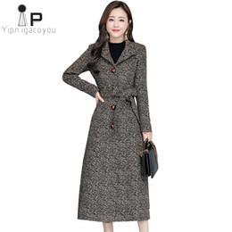bf7dcf188d8 Women Coat Winter Long Wool Jacket 2019 Vintage Korean Plus Size Slim Warm Woolen  Coat Women Fashion Ladies Wool Jacket Overcoat