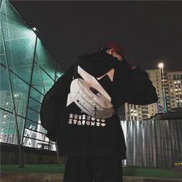 $enCountryForm.capitalKeyWord NZ - New Arrivel Tide brand small bag unisex chest bag pocket printing letter sports shoulder Messenger bag