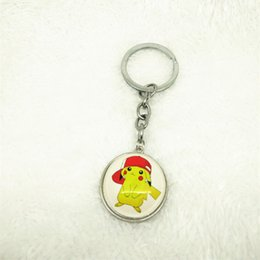 Mini Figures Keychain Australia - Ball Keychain Cute Ball Pokeball Mini Model Classic Anime Pikachu Super Figures Toys Keychain 3cm Sl22