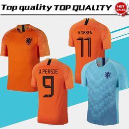Holland football sHirt online shopping - 2019 Netherlands Soccer Jerseys v  Persie Sneijder Cruyff Robben Futbol a27fac857