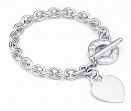$enCountryForm.capitalKeyWord NZ - High Quality Celebrity design 925 Silverware Silver Chain bracelet Women Letter wristband Love Bracelets Jewelry With dust bag Box