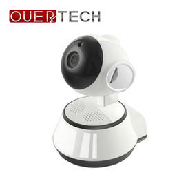 Ccd Wireless Night Vision Australia - OUERTECH Wide angle view WIFI Two way audio Night vision 720P Wireless Smart IP Camera support 64g TF card baby monitor