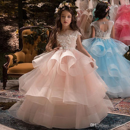 $enCountryForm.capitalKeyWord Australia - Fashion Children's dress Girls from 2 to 11 years old Evening Ball Dresses For Wedding Princess Dress for Graduation Party Official Eve