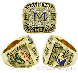 $enCountryForm.capitalKeyWord UK - real fine wholesale free shipping 1997 Michigan State University NCAA National League Rose Bowl Champion Ring Men rings