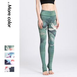 $enCountryForm.capitalKeyWord Australia - Women Clothing Fitness Leggings Women Elastic Push Up Hip Legins Ink Print Compression Pants Sexy Sweatpant Female Leggins Mujer