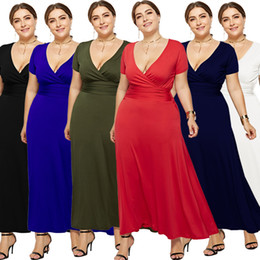 night robe 3xl Canada - M-3XL Plus Size Evening Dresses Ever Pretty Elegant V-Neck Ruffles Chiffon Formal Evening Gown Party Dress Robe De Soiree 2019