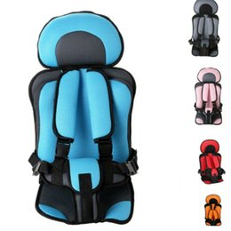 baby feeding mats Australia - Portable Baby Car Seat Mat Bean Bag Chair Seat Puff Thickening Sponge toddle Feeding Chairs for 6 months-1-5 Years Old