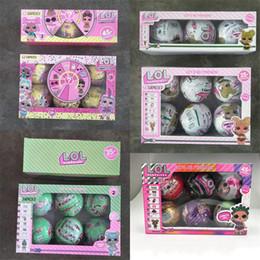 $enCountryForm.capitalKeyWord Australia - Hottest Glitter Series lol Doll 10cm Magic Egg Ball Unpacking Dolls Action Figures Kids Toys Girls Dress Up Gift