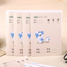 ExErcisE books online shopping - 10pcs Chinese Character Exercise Workbook Practice Writing For Calligraphy Notebook PinYin Writing Book Size x mm