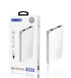 Products Fast Australia - High quality A product 10000 mAh mobile power large capacity dual USB fast power for iPhone X Plus HTC Samsung S8 charging treasure