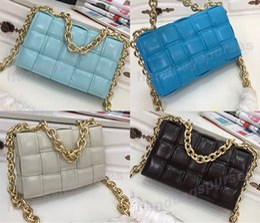 2020 Style Chain bag Handbags Original Leather Shoulder Bags Wallet Genuine Leather purse Crossbody bag Flap Chain Bag on Sale