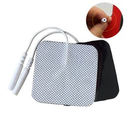 $enCountryForm.capitalKeyWord Australia - 50pcs of Self Adhesive Electrodes pads massage Pad for TENS therapy muscle stimulator electric device new