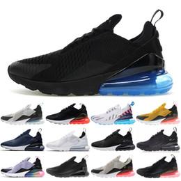 timeless design e9812 6f345 Barato 270 TN Hombres Mujeres Deportes Zapatos para correr Negro Azul Tigre  Parra Hot Punch Core Blanco 27C Diseñador Zapatillas de deporte tamaño 36-48