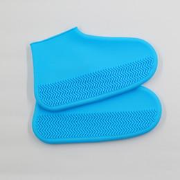 Водонепроницаемый чехол для обуви и обуви Многоразовые нескользящие дождевики со снегом Складные галоши Силиконовые сапоги оптом на Распродаже