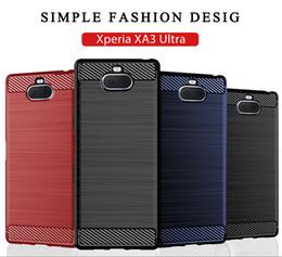 b41f9ed7841 Teléfonos compactos online-para Sony TPU Funda para teléfono móvil Xperia  XA3 Ultra XZ1 XZ2
