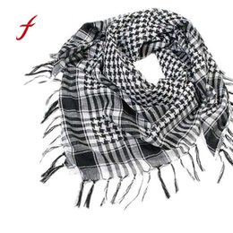 Versatile Arab Army Tactical Camouflage Scarf Men Military Jungle Combat Windproof Mesh Shawl Veil Unisex Camo Paintball Scarves Products Hot Sale Men's Scarves