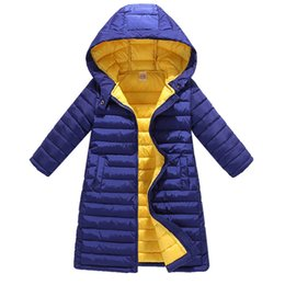 $enCountryForm.capitalKeyWord Australia - Winter Down Parka Coat for Girls New 2018 Fashion Solid Hooded Unisex Kids Jackets Children Cotton Down Warm Casacos Outwears