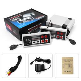 Toptan satış Mini TV perakende boxs ile NES oyun konsolları için 620 500 Oyun Konsolu video Handheld'i saklayabilir TPB0163 Yeni Geliş LXL1404