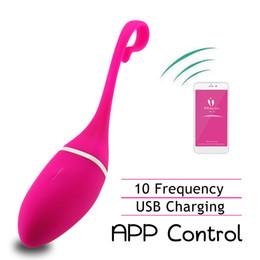 $enCountryForm.capitalKeyWord Australia - Meselo Smart App Control Vibrator Massager For Women Vibrating Eggs G-spot Vibrator Clitoral Stimulation Wireless Adult Sex Toy S627