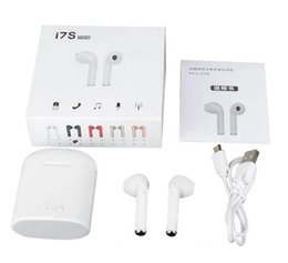 $enCountryForm.capitalKeyWord Australia - I7s TWS Bluetooth Headset Wireless earphones Sports headphones With microphone headset for Mobile phone iPhone Samsung Huawei LG