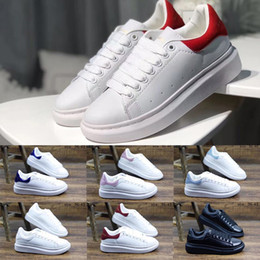 White oxford flats online shopping - 2019 Women Casual Shoes Luxury Desinger Oxford Dress Shoes For Men Red Bottom Shoes Leather Lace Up Wedding Daily Sneaker