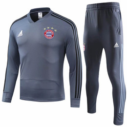 $enCountryForm.capitalKeyWord UK - Free shipping new Bayern adult Tracksuit Sets 18 19 home away MULLER training suit JAMES soccer jerseys ROBBEN maillot de foot