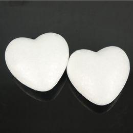 Foam shape toy online shopping - 8 cm polystyrene foam wedding decoration peach heart shaped ball Christmas decoration children s creative toys DIY crafts