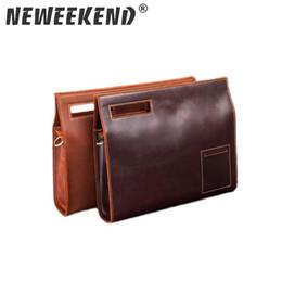 $enCountryForm.capitalKeyWord Australia - Neweekend 2018 Crazy Horse Leather Briefcase for Man Vintage Men Genuine Leather Messenger Bag Business Bags Male SF065