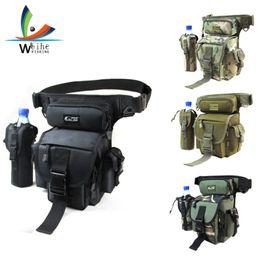 Mounchain Multi-functional Fishing Bag Fanny Pack Fishing Gear Bag Raft Rod 600d Nylon Sea Fishing Rod Bag Security & Protection