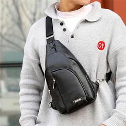 $enCountryForm.capitalKeyWord Australia - New Fashion Mens Shoulder Bag Sport Crossbody Handbag Mens Chest bag Outdoor Sling Chest Pack Borsa a Tracolla Da Uomo New 2019