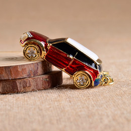 $enCountryForm.capitalKeyWord Australia - Fashion New Rhinestone Car Model Key chains Male Car Key chain Various Model Ring Hobbies Jewelry Crystal keychain