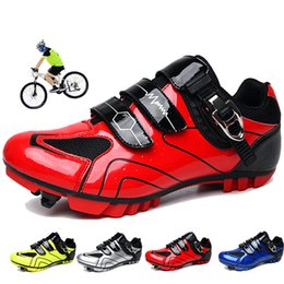 bikes shoes Australia - Bicycle Shoes Men Road Cycling Shoes Mountain Bike Sapatilha Ciclismo MTB Mountain Cycle Sneakers Triathlon Racing