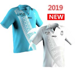 e38fc83dc61 Hot sales 2019 2020 FIJI Home away rugby Jerseys shirt nrl jersey 19 20 fiji  union shirts s-3xl