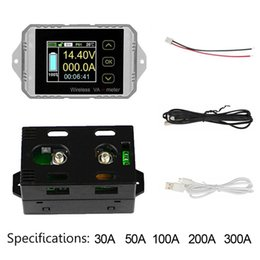 $enCountryForm.capitalKeyWord Australia - Multi Protection Power Car Battery Capacity Wireless Coulometer Ammeter Voltmeter Test Meter Tool Multifunction LCD Display