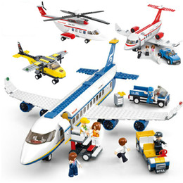 Toys Airplane Australia - City Airport Airbus Aircraft Airplane Military Fighter Model Compatible LegoINGs Planes Building Blocks Sets Figures Bricks Toys
