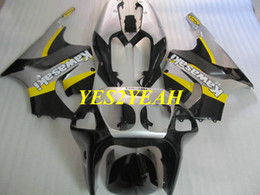 Discount kawasaki zx7r bodywork - Motorcycle Fairing kit for KAWASAKI ZX-7R 96-03 ZX7R 1996 2003 Ninja ZX 7R 96 97 02 03 Fairings bodywork+gifts KU26
