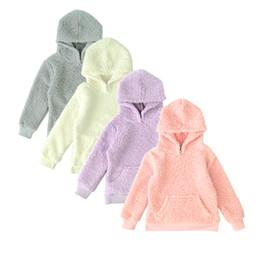 Girls fleece hoodie online shopping - Spring Witner Teens Girls Sweatshirt Hoodies Coat Berber Fleece Children s Girl Bottom Clothes
