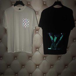 Wholesale fans clothes for sale – custom pp20 New Luxury Designers Paris fans T Shirts Mens Clothing Women Summer Casual T Shirts Cotton letter fashion Short Sleeve Medu