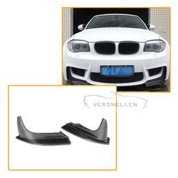 $enCountryForm.capitalKeyWord Australia - Performance Carbon Front Splitter Car Racing Front Bumper Lip Splitter Apron for BMW 1 Series E82 M 1M Coupe 2 Door 2011